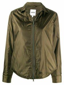 Aspesi zipped shirt jacket - Green