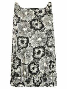 Aspesi floral print blouse - White