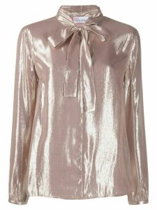 RedValentino RED(V) metallic shirt - PINK