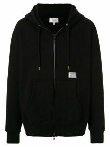 Makavelic waterproof zip hoodie - Black