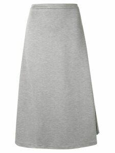 Être Cécile Rainbow stripe detail skirt - Grey