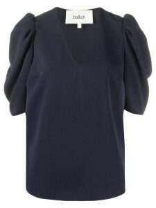 Ba & Sh puff sleeve top - Blue