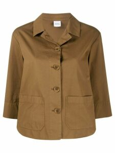 Aspesi patch pocket shirt jacket - Brown