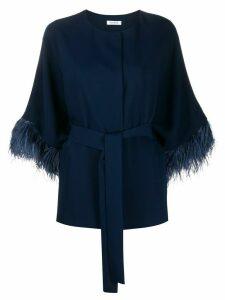 P.A.R.O.S.H. tie-waist blouse - Blue