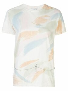 Collina Strada embellished abstract T-shirt - White