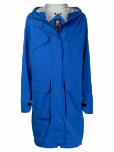Canada Goose Trillium hooded parka coat - Blue