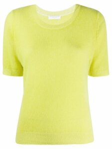 Majestic Filatures relaxed-fit cashmere top - Yellow