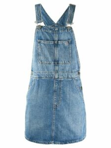 Tommy Jeans denim overall dress - Blue