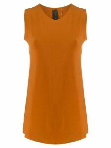 Norma Kamali elongated design top - ORANGE