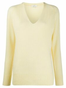 Vince plain relaxed jumper - Yellow