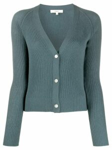 Vince ribbed knit cardigan - Blue