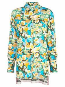 M Missoni floral-print shirt - Blue