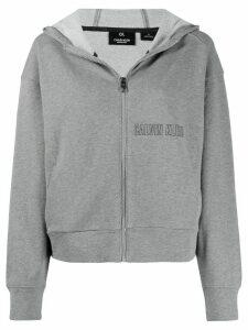 Calvin Klein logo print hoodie - Green