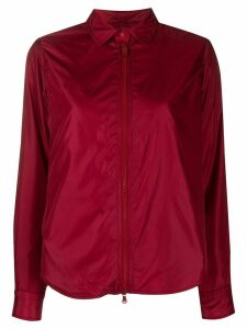 Aspesi pointed collar shirt jacket - Red