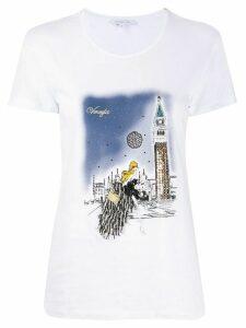 Patrizia Pepe Venezia print T-shirt - White