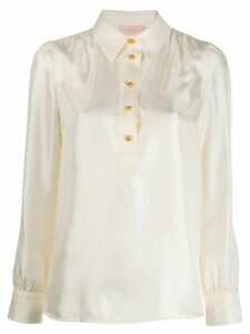 Tory Burch buttoned long-sleeved shirt - NEUTRALS
