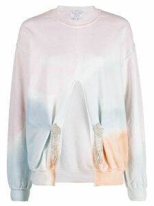 Collina Strada x Charlie Engman cut out detail sweatshirt - PINK