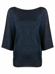 Roberto Collina glitter knit jumper - Blue