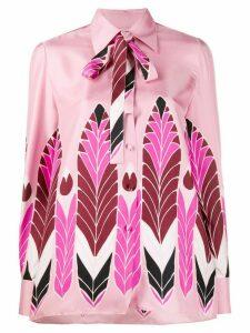Valentino graphic print shirt - PINK