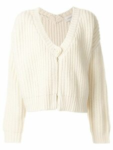 Karen Walker V-neck cardigan - White