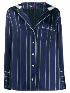 Tommy Hilfiger oversized striped blouse - Blue