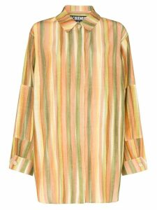 Jacquemus La Chemise oversized striped shirt - Multicolour