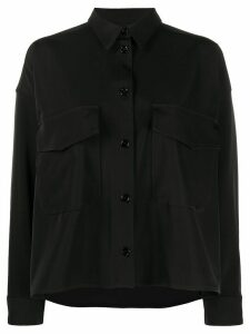 Mm6 Maison Margiela relaxed fit shirt - Black