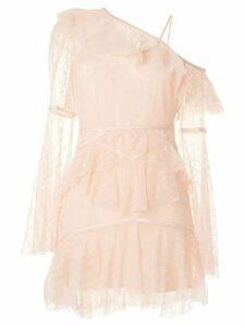 Alice McCall Shadow Love mini dress - PINK