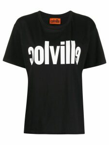 colville crew neck logo printed T-shirt - Black
