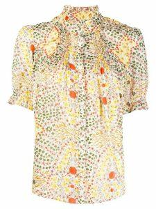 Ba & Sh Hippy floral print blouse - NEUTRALS