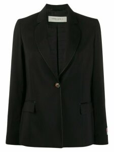 Golden Goose crystal-button single breasted blazer - Black