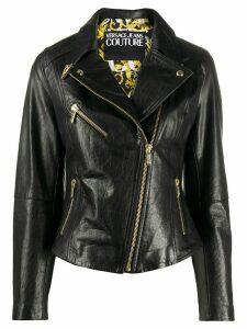 Versace Jeans Couture moto jacket - Black