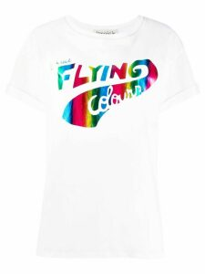 Être Cécile Flying Rainbow T-shirt - White