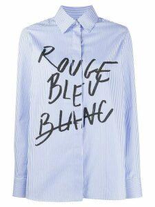 Être Cécile Rouge Bleu Blanc Shirt - Blue