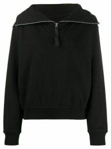 Reebok x Victoria Beckham half-zip sweatshirt - Black
