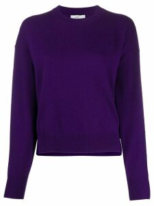 Closed loose-fit jumper - PURPLE