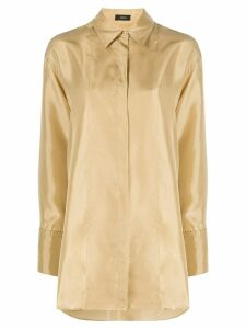 Joseph oversized point-collar shirt - Yellow