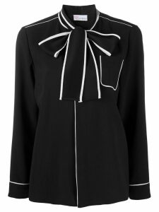RedValentino pussy-bow blouse - Black