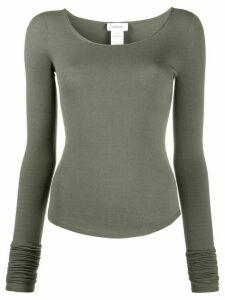 Lemaire jersey knit T-shirt - Green