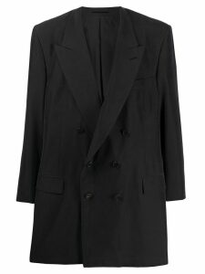 Martine Rose double-breasted oversized blazer - Black