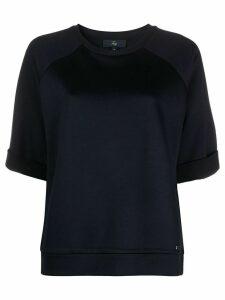 Fay short sleeve sweatshirt - Blue