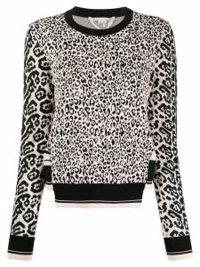 Stella McCartney animal print jumper - PINK
