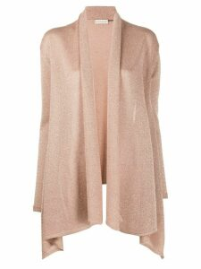 Etro metallic knit cardigan - PINK