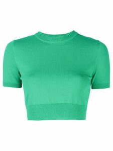 Alexis Finzi cropped T-shirt - Green