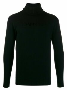 AMBUSH turtle neck jumper - Black