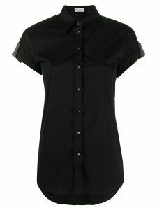 Brunello Cucinelli tab sleeve shirt - Black