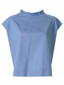 Atlantique Ascoli back button blouse - Blue