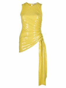 Amen ruched sequin top - Yellow