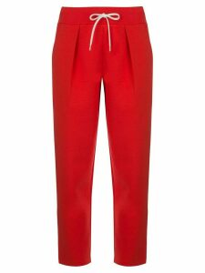 Givenchy cropped drawstring trousers - Red