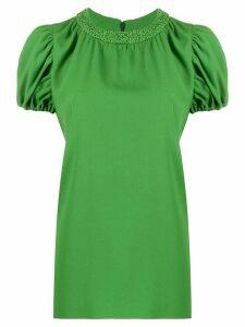 Kenzo puff-sleeve blouse - Green